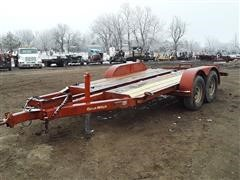 1978 DitchWitch BWT12 T/A Flatbed Trailer