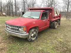 1999 Chevrolet C3500 S/A Dump Truck