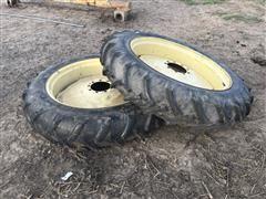 T-L 11.2-38 Tires W/Rims