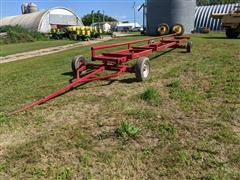 Homemade 30' Header Trailer