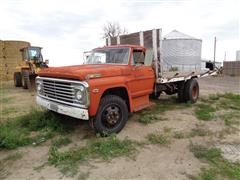 1969 Ford F600 Flatbed Truck BigIron Auctions