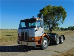 1983 White T/A Yard Truck Tractor