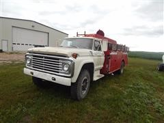 1979 Ford F-600 Fire Truck