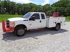 2012 Ford F350 Super Duty 4x4 Extended Cab Service Truck
