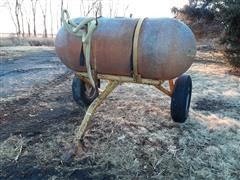 Mayrath Fiberglass Tank On Cart