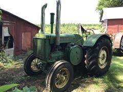 1938 John Deere D 2WD Tractor
