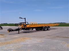 2014 Cancade Baler Buggy Self-Loading T/A Round Bale Hauler