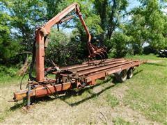 Hesston 60 Stak Mover W/3060 StakFork Grapple