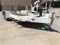 2007 SDP 7500 LPF T/A Flatbed Trailer