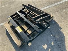 2018 Mahindra Pallet Fork Skid Steer Attachment