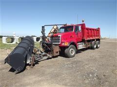 2004 Sterling LT9500 T/A Dump Truck W/Snow Plow