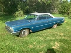 1963 Ford Galaxie 500 2-Door Car