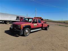 1994 GMC Sierra C3500 Wrecker Tow Truck