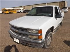 1995 Chevrolet 1500 4x4 Extended Cab Pickup
