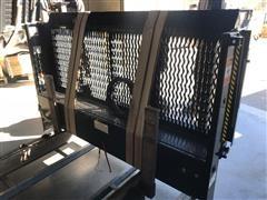 2015 Palfinger E48-72 Cable Gate Grated Steel Platform Liftgate