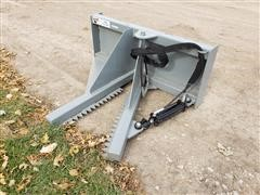 2019 Hawz Tree/Post Puller Skid Steer Attachment