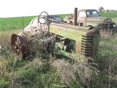 1939 John Deere Model A Tractor