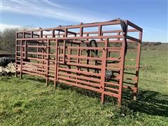 Daniels Cattle Alleyway