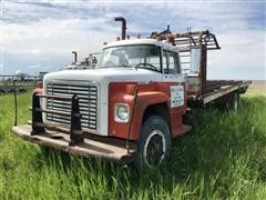 1976 International Loadstar 1700 T/A Truck W/Stack Mover Bed