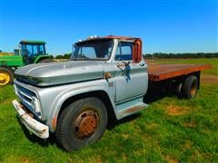 1966 Chevrolet C63 S/A Flatbed Truck