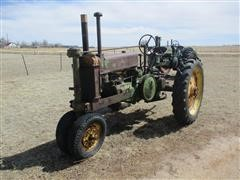 1937 John Deere A 2WD Tractor