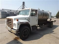 1984 International S1700 S/A Water Truck