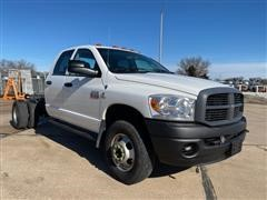 2007 Dodge RAM 3500 Heavy Duty 4x4 Quad Cab And Chassis