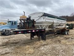 2011 Neville Wilmar 111DT Side Shooter 24 T/A Dry Fertilizer Trailer
