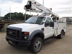 2008 F550 Bucket Truck