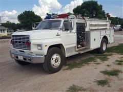 1984 Ford F826 Pumper Truck