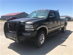 2005 Ford F250 Super Duty 4x4 Extended Cab Pickup