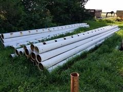 """Cozad Cropsaver 8"""" Gated Irrigation Pipe"""