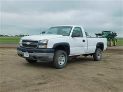 2005 Chevrolet Silverado 2500HD 4WD Pickup