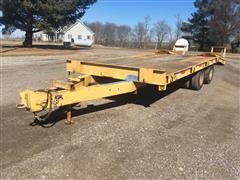 1978 DynaWeld Deck-Over Flatbed Trailer