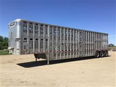 2003 Wilson PSDCL-402 Tri/A Livestock Trailer