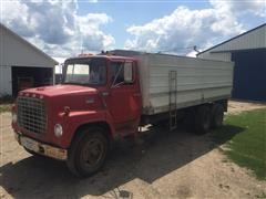 1976 Ford 750 T/A Grain Truck