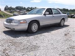 2003 Mercury Grand Marquis LS 4 Door Sedan