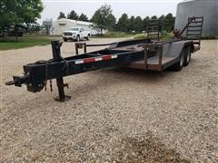 T/A Equipment Transport Trailer