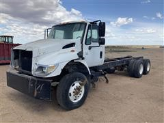 2002 International 7400 T/A Cab & Chassis FOR PARTS ONLY
