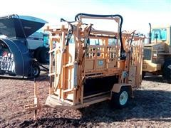 For-Most Portable Hydraulic Squeeze Chute