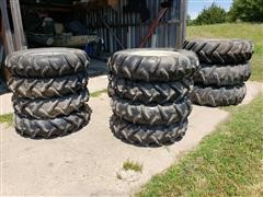 Pivot Tires/Rims, Center Drives, Wheel Gear Boxes