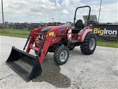 2015 Mahindra 1538 H 4WD Compact Utility Tractor W/Loader