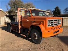 1989 GMC C6500 S/A Flatbed Truck