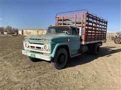 1963 Chevrolet C60 Truck W/Livestock Box