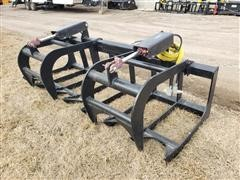 Mid-State Brush Grapple Skid Steer Attachment