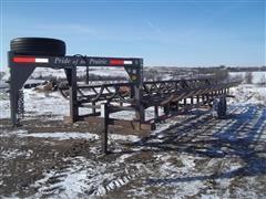 2012 Pride Of The Prairie 10 Bale Gooseneck Trailer