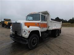 1985 Ford 8000 T/A Dump Truck