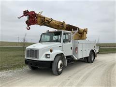 1999 Freightliner FL80 Digger Derrick Truck
