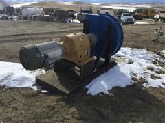 "Bredel 2"" Hose Pump W/Peed Reducer & 20 HP Electric Motor"