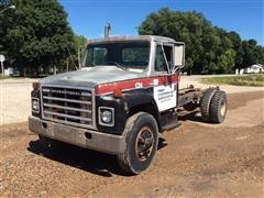 1981 International S1754 S/A Cab & Chassis